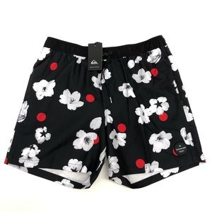 Quicksilver Japanese Blossoms Volley Shorts Swim